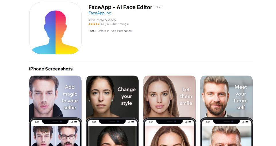 faceapp prywatność ochrona danych